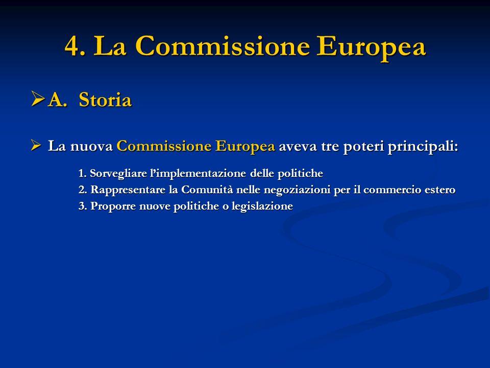 4. La Commissione Europea