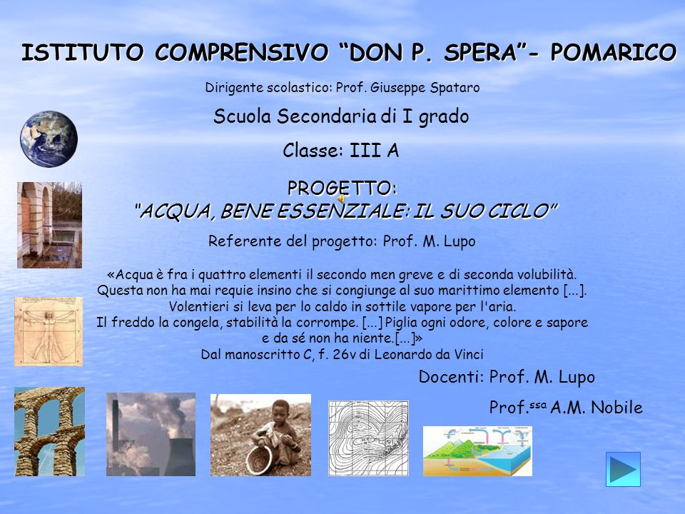 ISTITUTO COMPRENSIVO DON P. SPERA - POMARICO