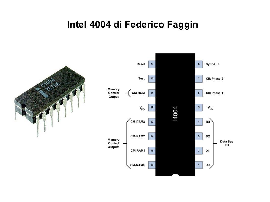 Intel 4004 di Federico Faggin