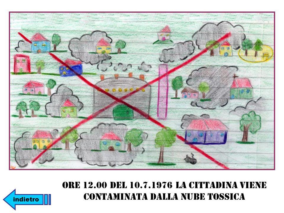 Ore 12.00 del 10.7.1976 la cittadina viene contaminata dalla nube tossica