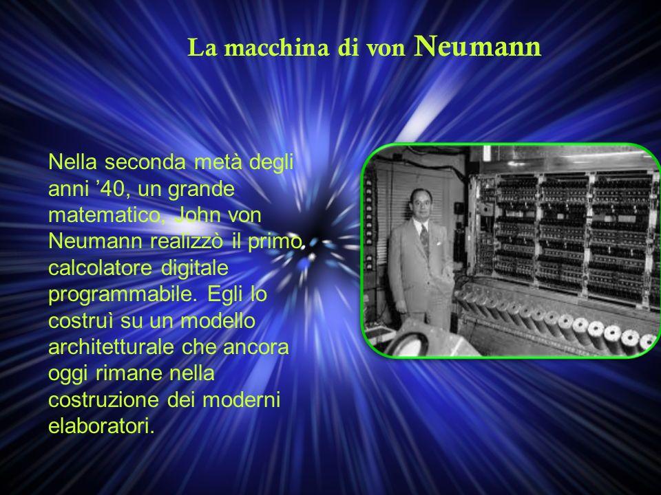 La macchina di von Neumann