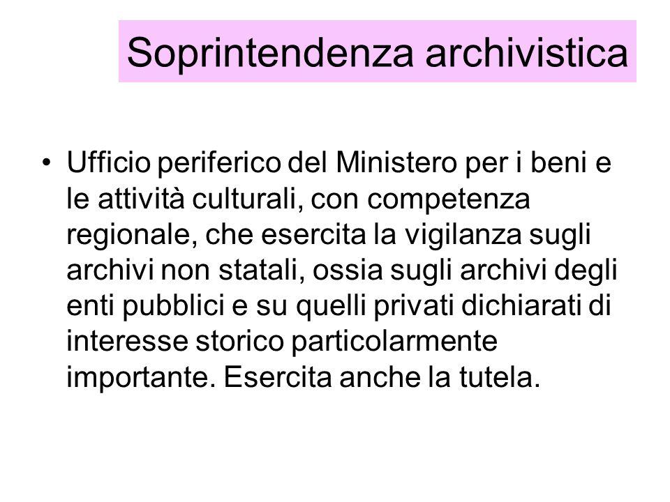 Soprintendenza archivistica