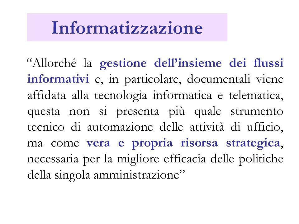 Informatizzazione
