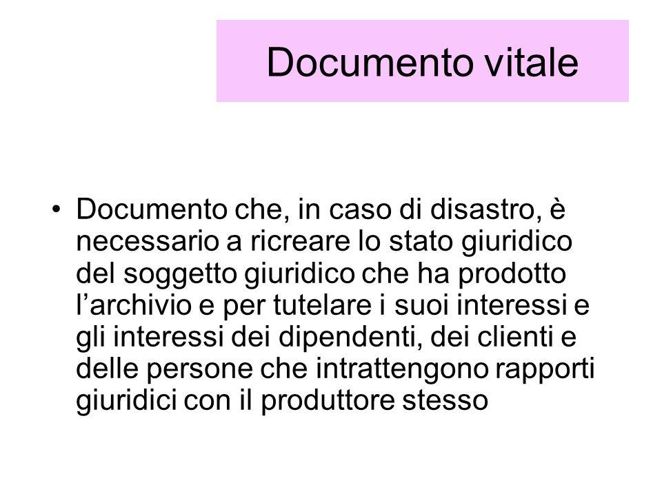 Documento vitale