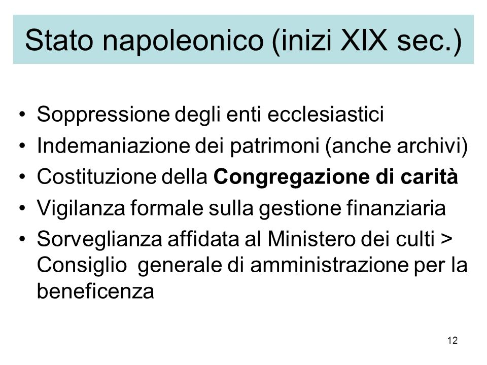 Stato napoleonico (inizi XIX sec.)
