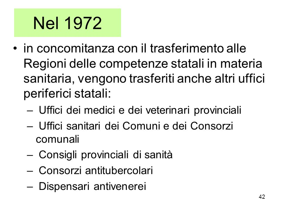 Nel 1972