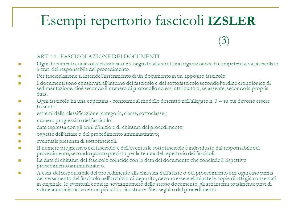 Esempi repertorio fascicoli IZSLER (3)