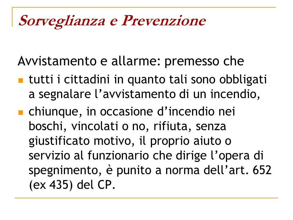 Sorveglianza e Prevenzione
