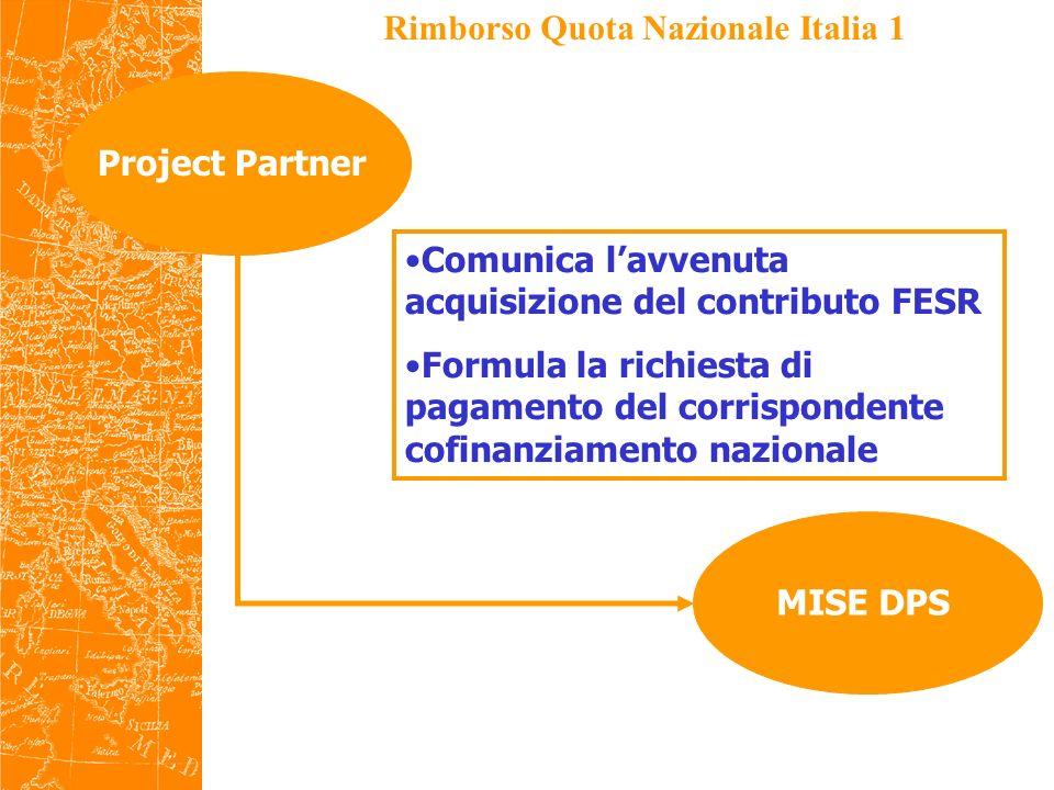 Rimborso Quota Nazionale Italia 1
