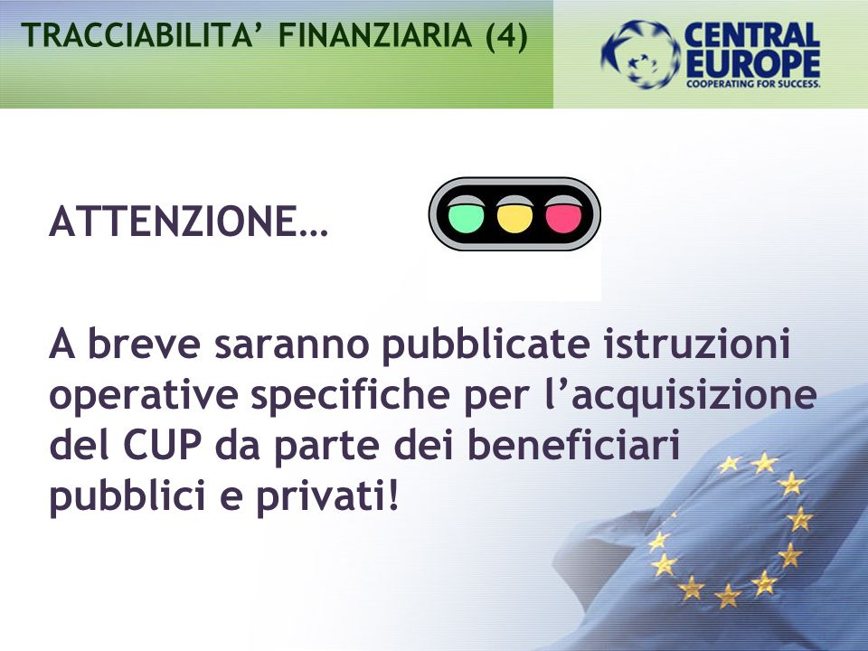 TRACCIABILITA' FINANZIARIA (4)