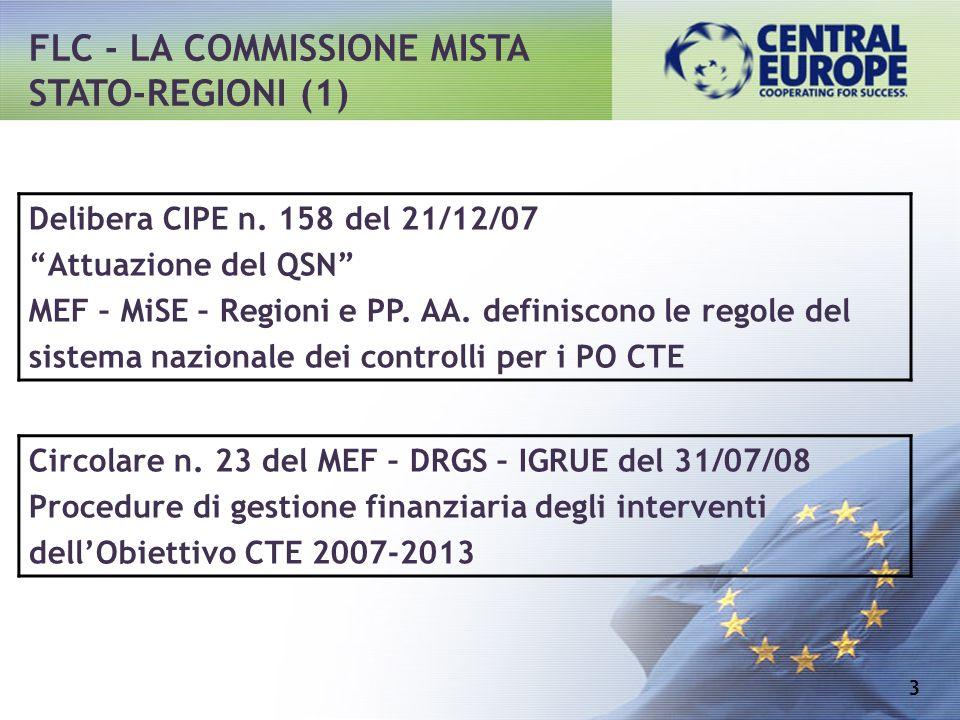 FLC - LA COMMISSIONE MISTA STATO-REGIONI (1)