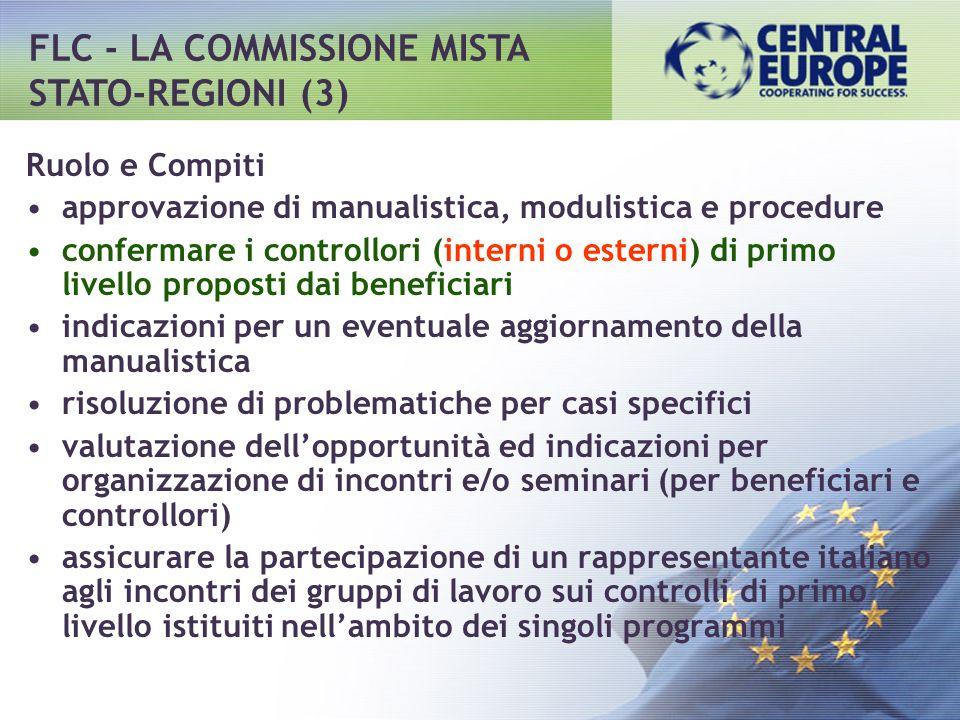 FLC - LA COMMISSIONE MISTA STATO-REGIONI (3)