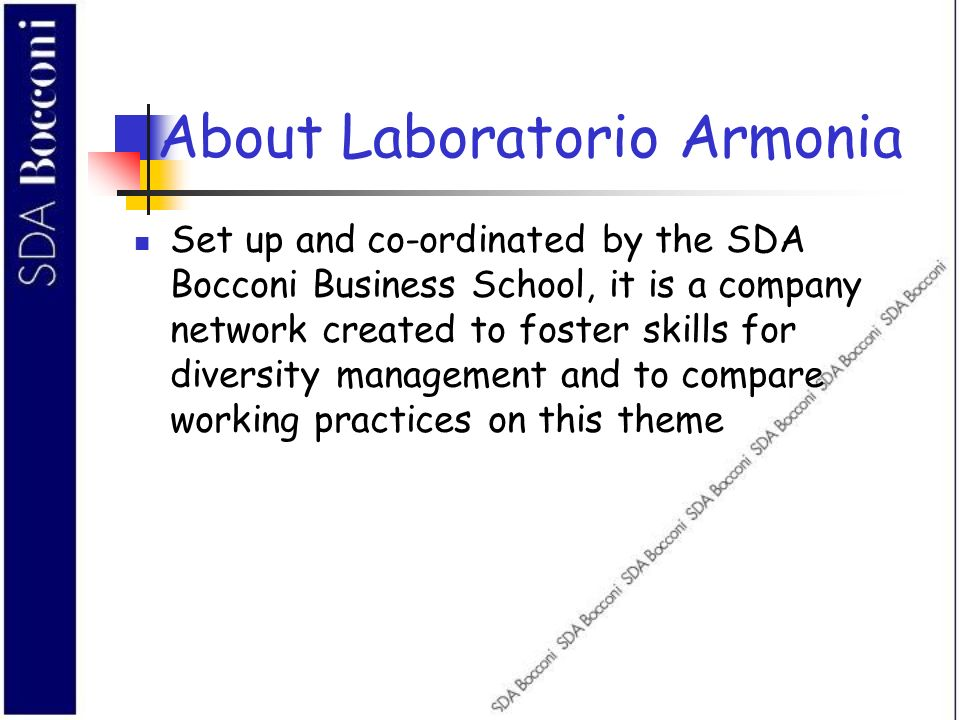 About Laboratorio Armonia