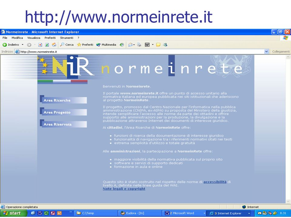 http://www.normeinrete.it
