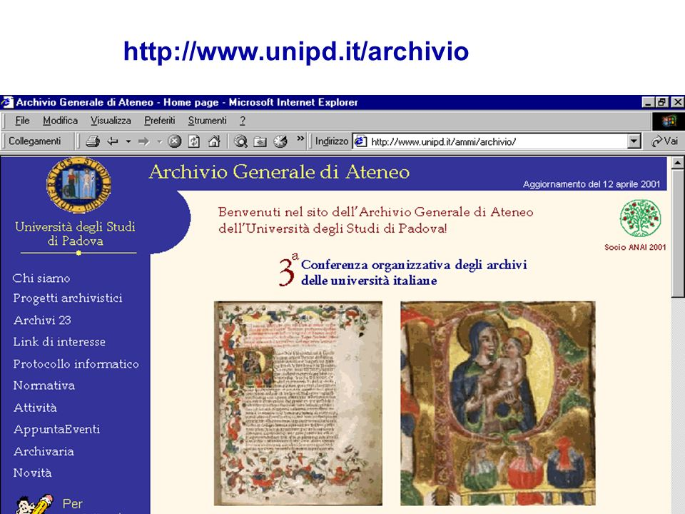 http://www.unipd.it/archivio
