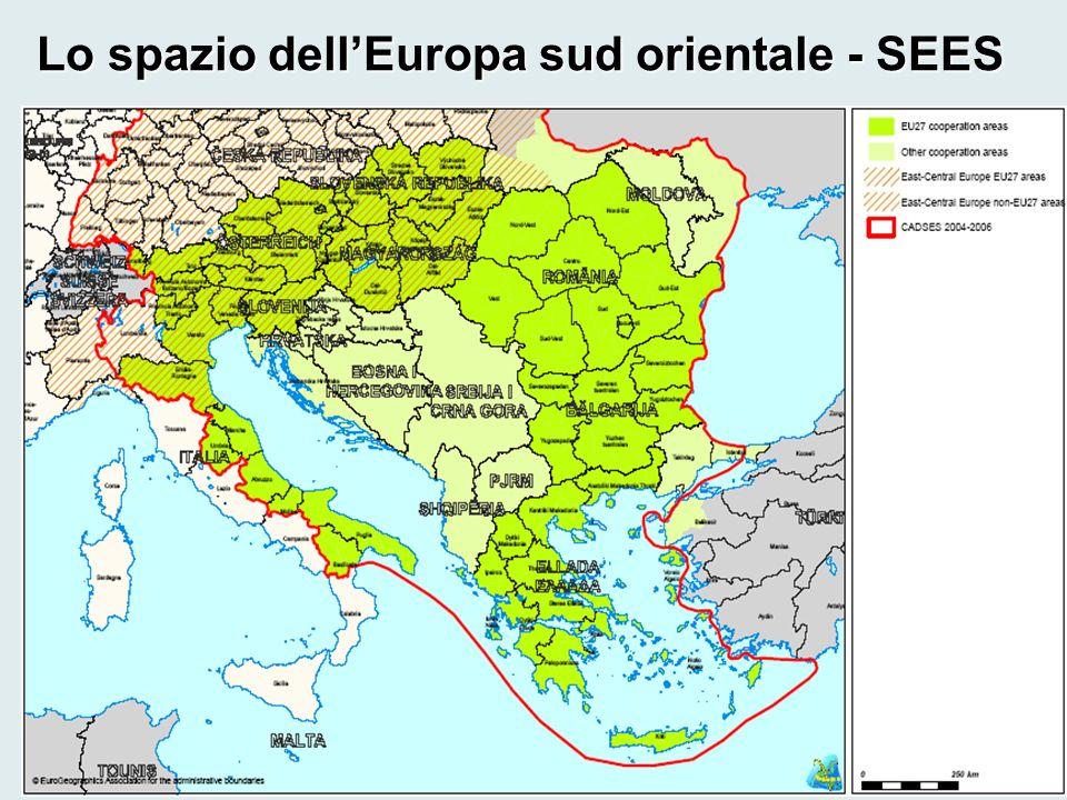 Lo spazio dell'Europa sud orientale - SEES