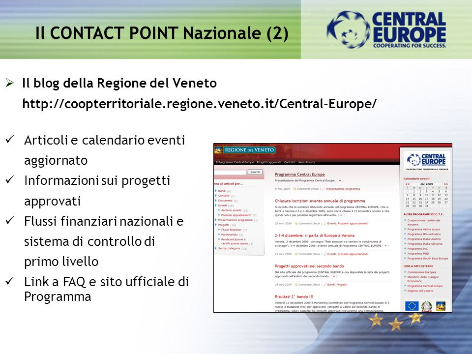 Il CONTACT POINT Nazionale (2)