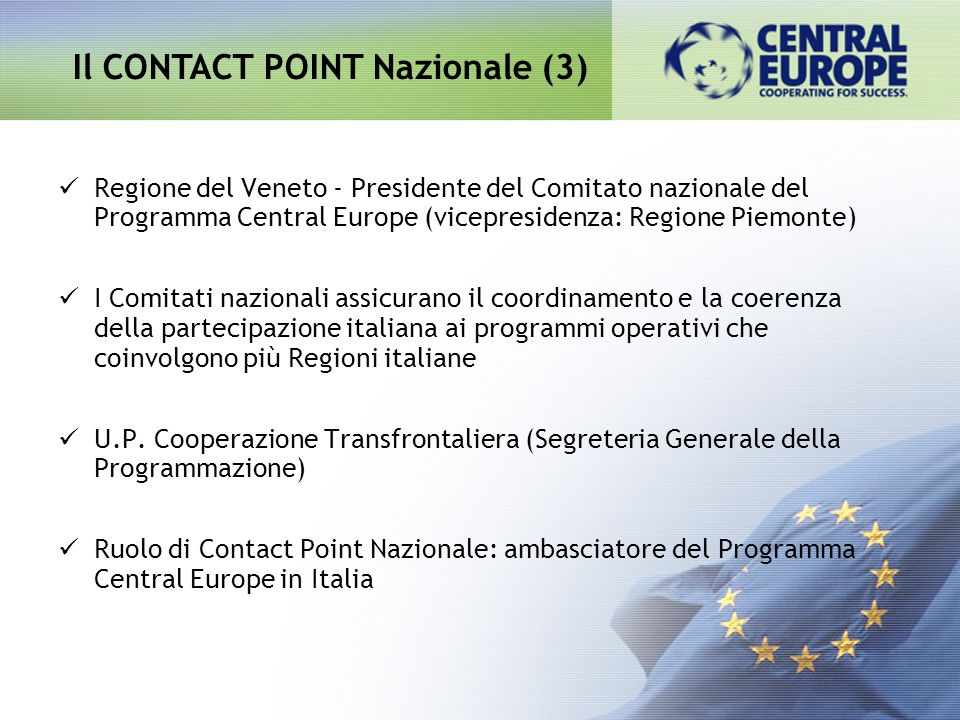 Il CONTACT POINT Nazionale (3)