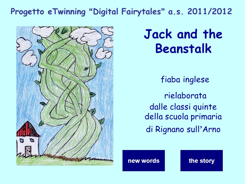 Progetto eTwinning Digital Fairytales a.s. 2011/2012