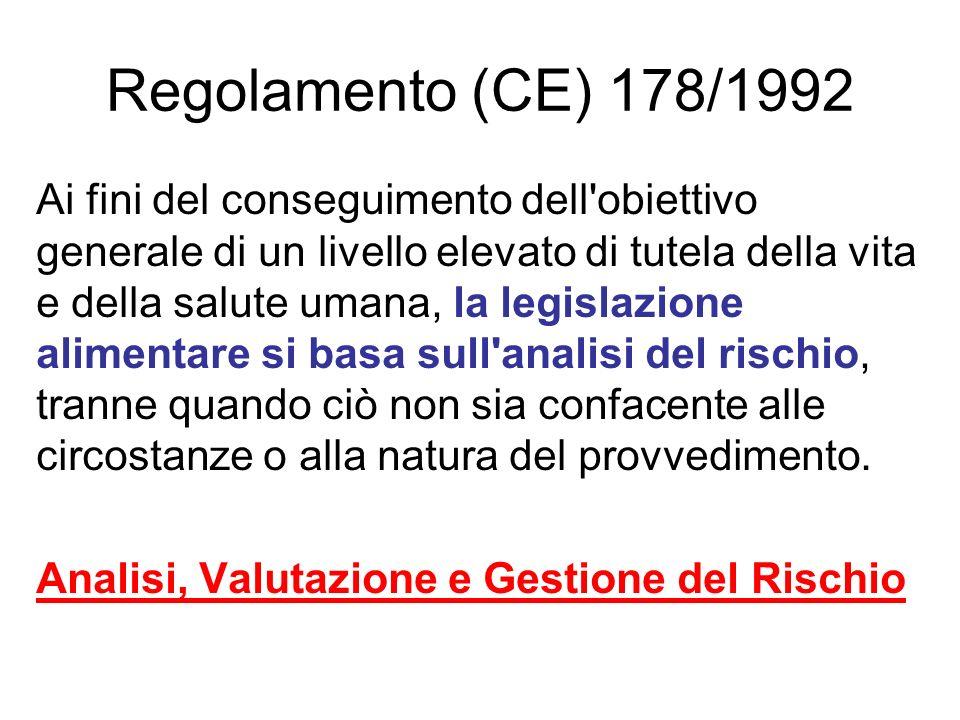 Regolamento (CE) 178/1992