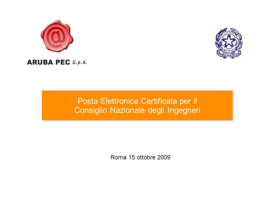 Posta Elettronica Certificata per il