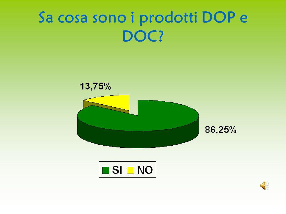 Sa cosa sono i prodotti DOP e DOC