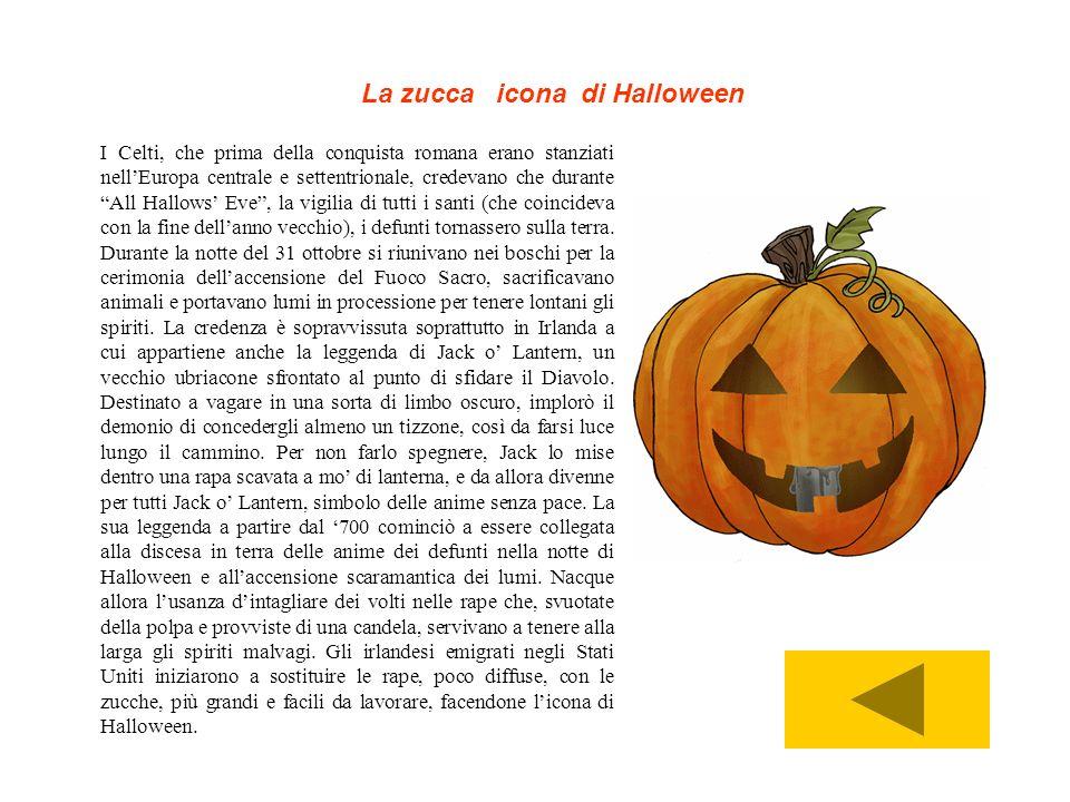 La zucca icona di Halloween