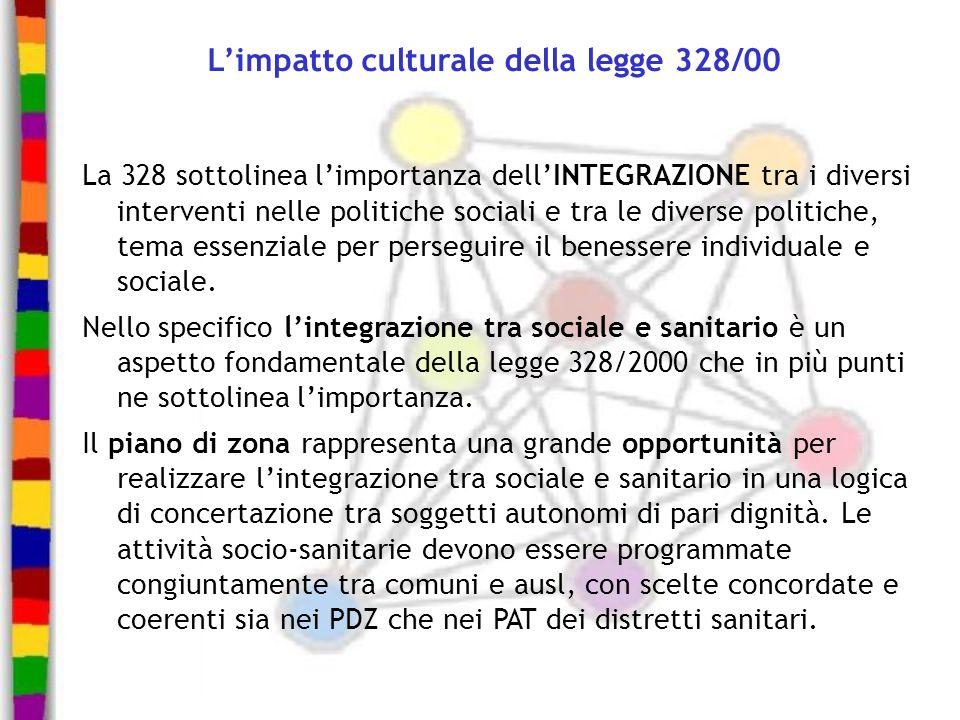 L'impatto culturale della legge 328/00