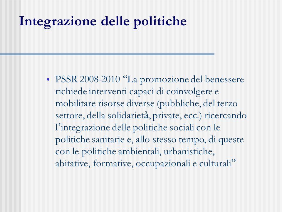 Integrazione delle politiche