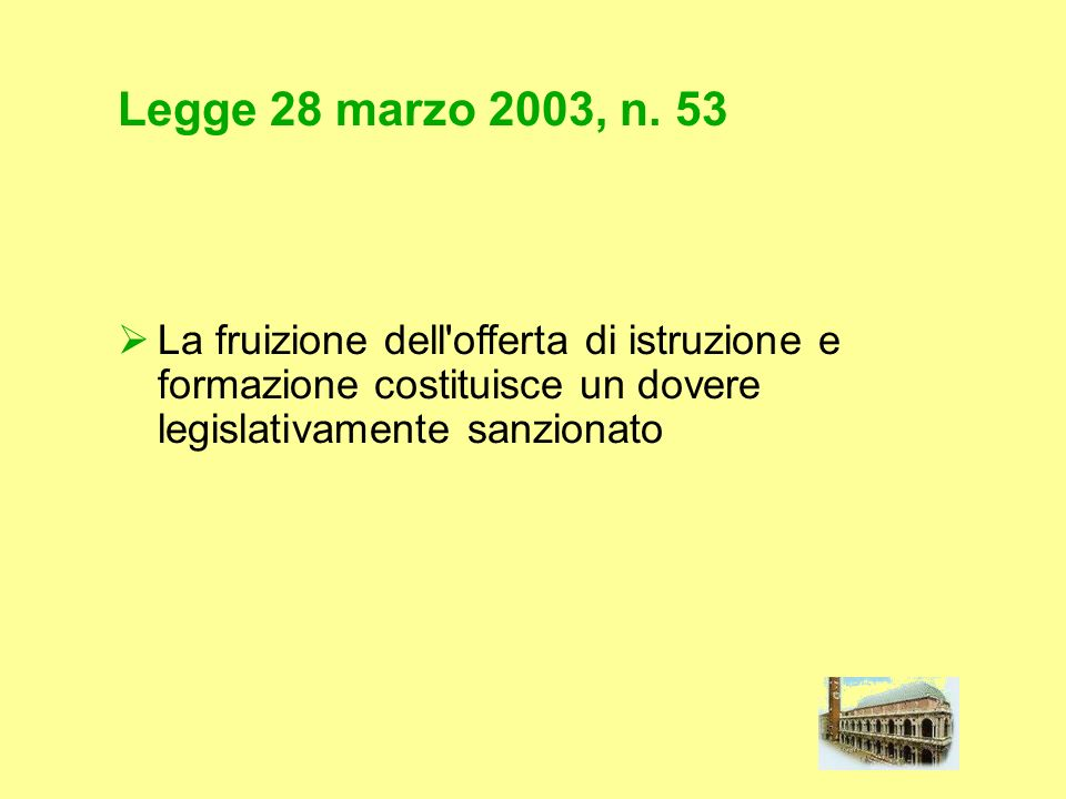 Legge 28 marzo 2003, n.