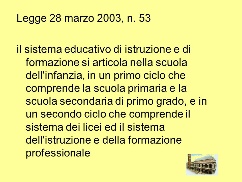 Legge 28 marzo 2003, n. 53