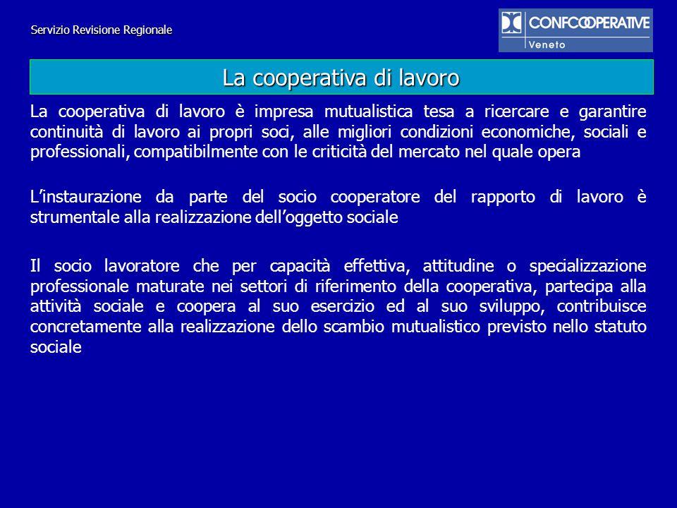 La cooperativa di lavoro