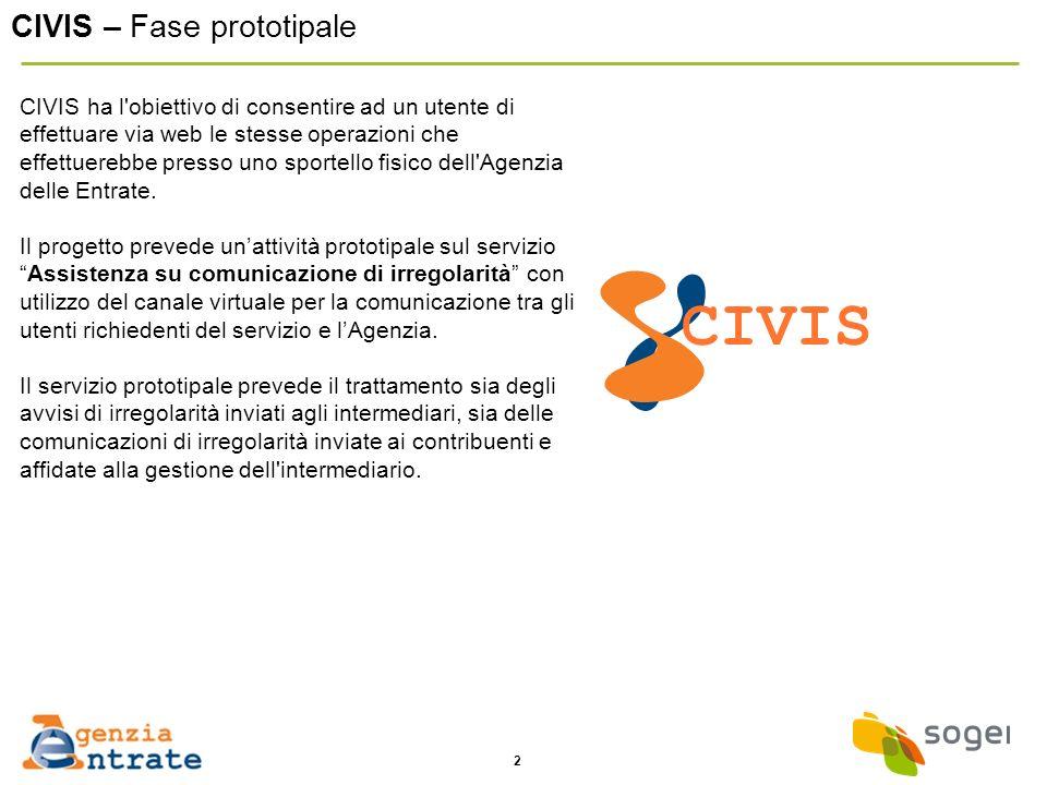 CIVIS CIVIS – Fase prototipale