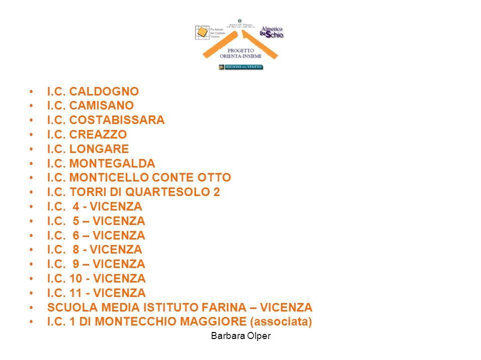 I.C. MONTICELLO CONTE OTTO I.C. TORRI DI QUARTESOLO 2 I.C. 4 - VICENZA