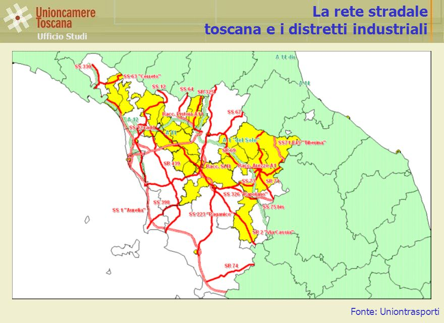 toscana e i distretti industriali