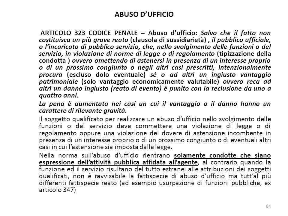 17/10/13 17/10/13. ABUSO D'UFFICIO.