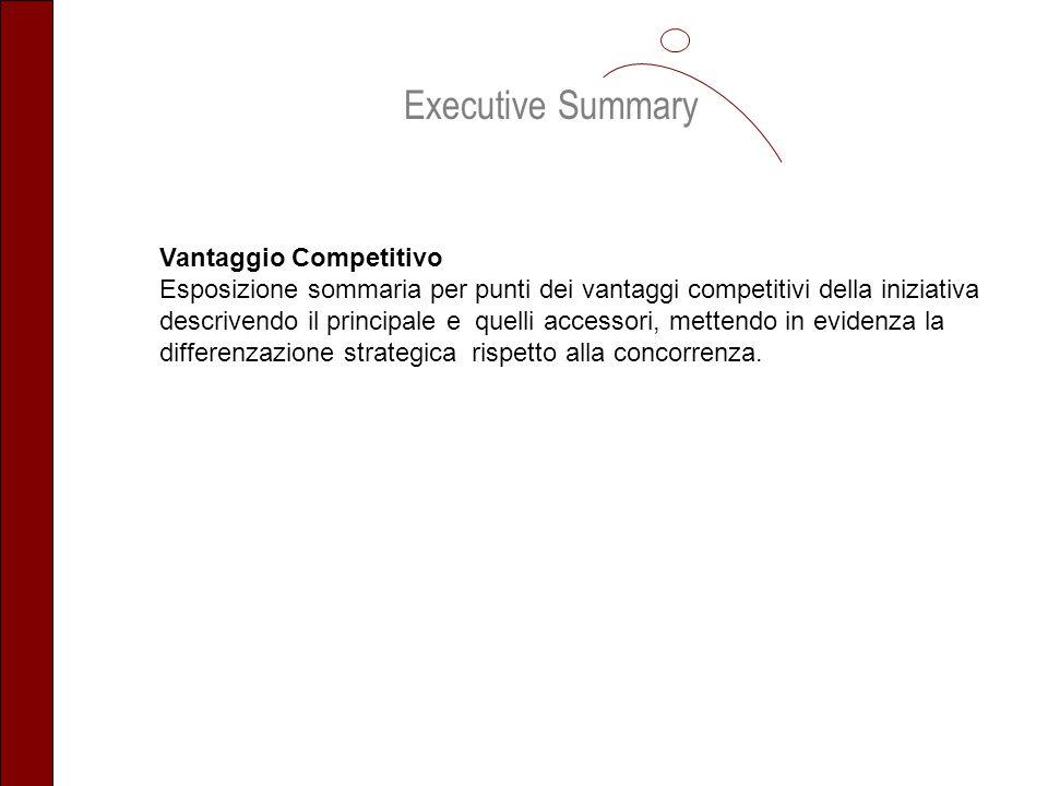 Executive Summary Vantaggio Competitivo