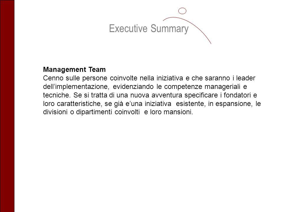 Executive Summary Management Team
