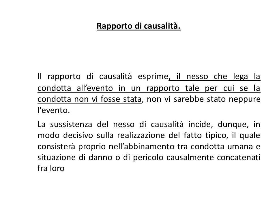 25/06/13 25/06/13. Rapporto di causalità.