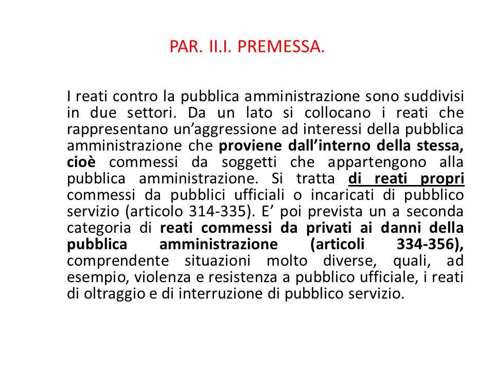 25/06/13 25/06/13. PAR. II.I. PREMESSA.