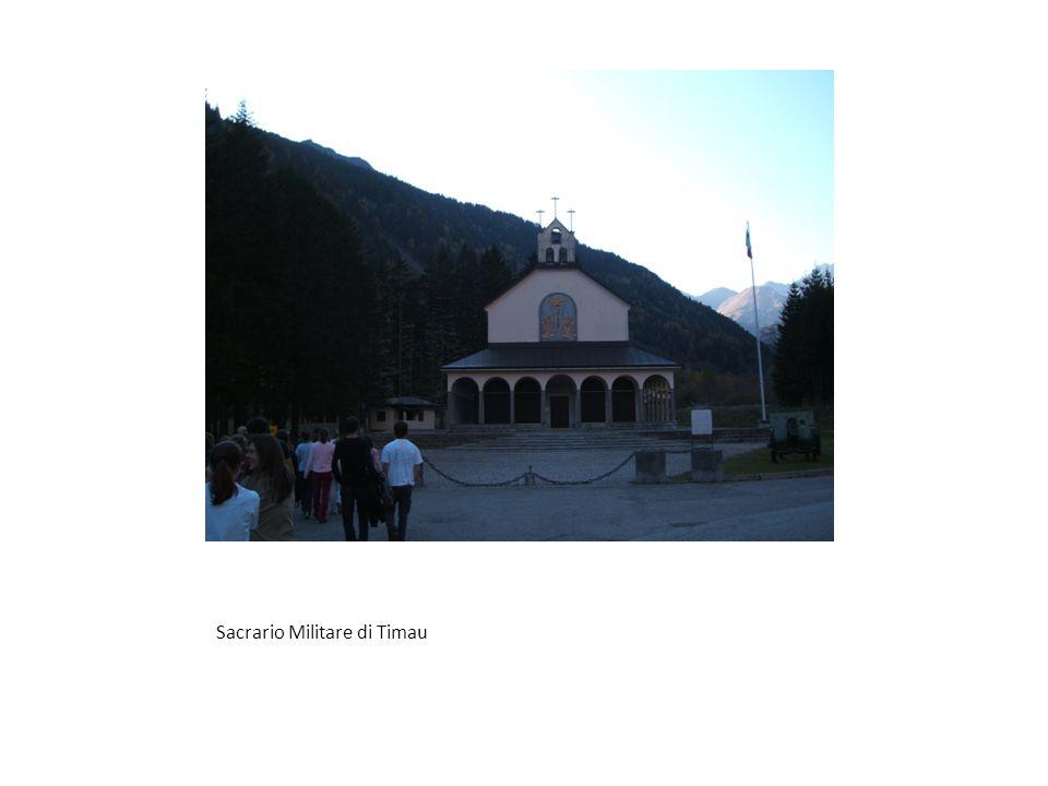 Sacrario Militare di Timau