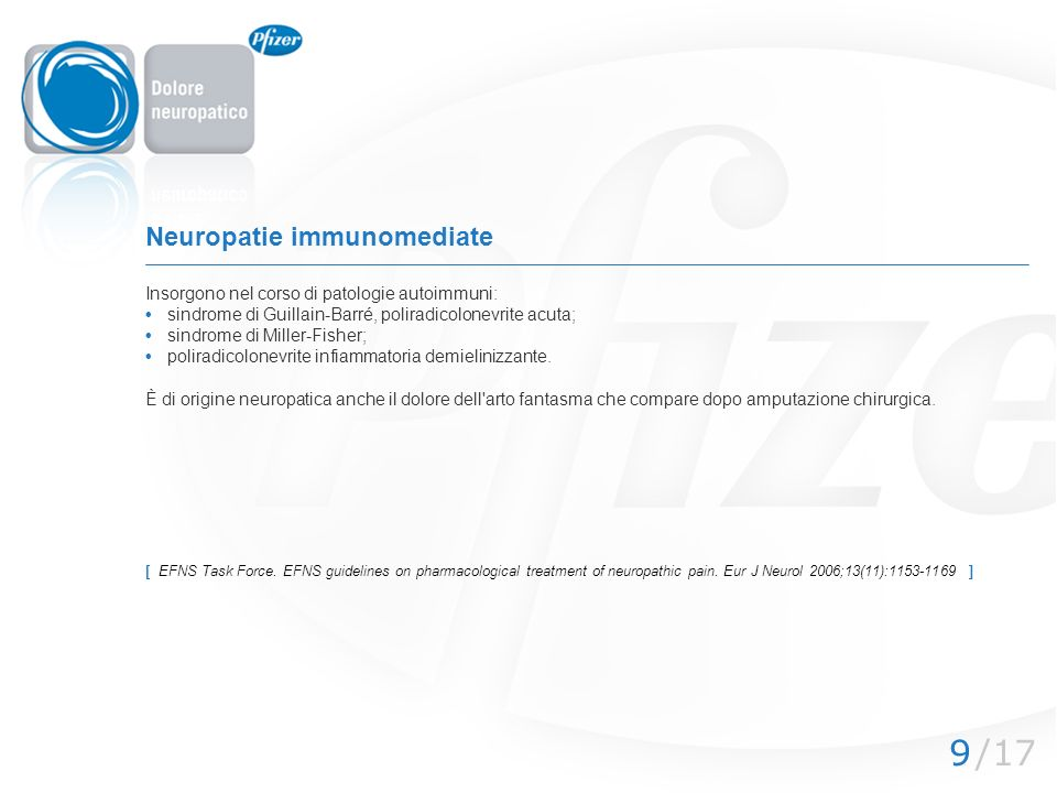 Neuropatie immunomediate