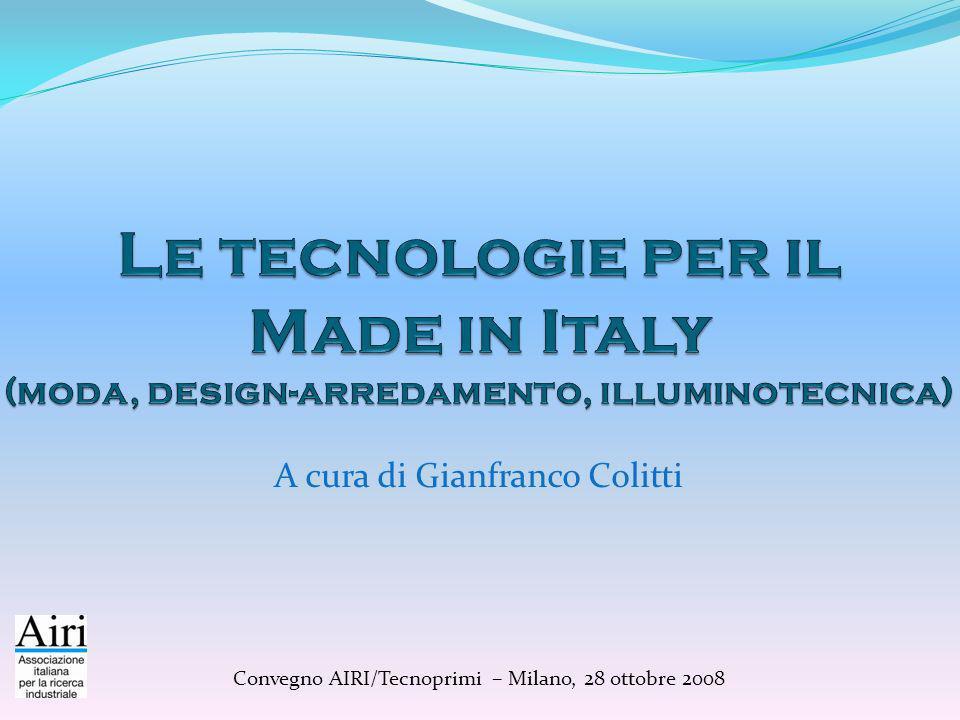A cura di Gianfranco Colitti