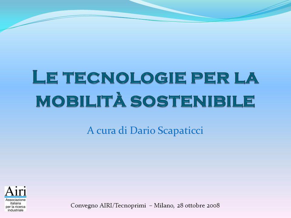 Le tecnologie per la mobilità sostenibile