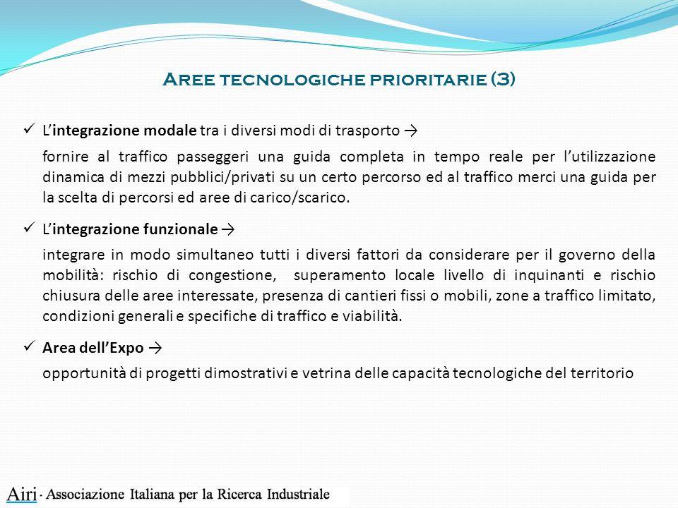 Aree tecnologiche prioritarie (3)