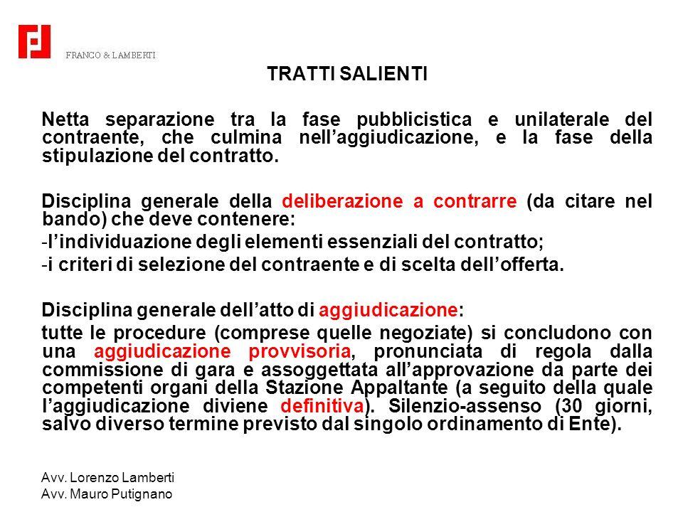 l'individuazione degli elementi essenziali del contratto;