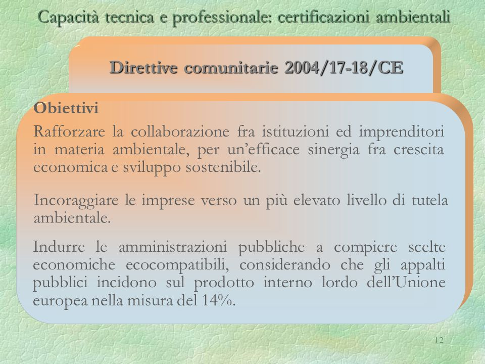 Direttive comunitarie 2004/17-18/CE