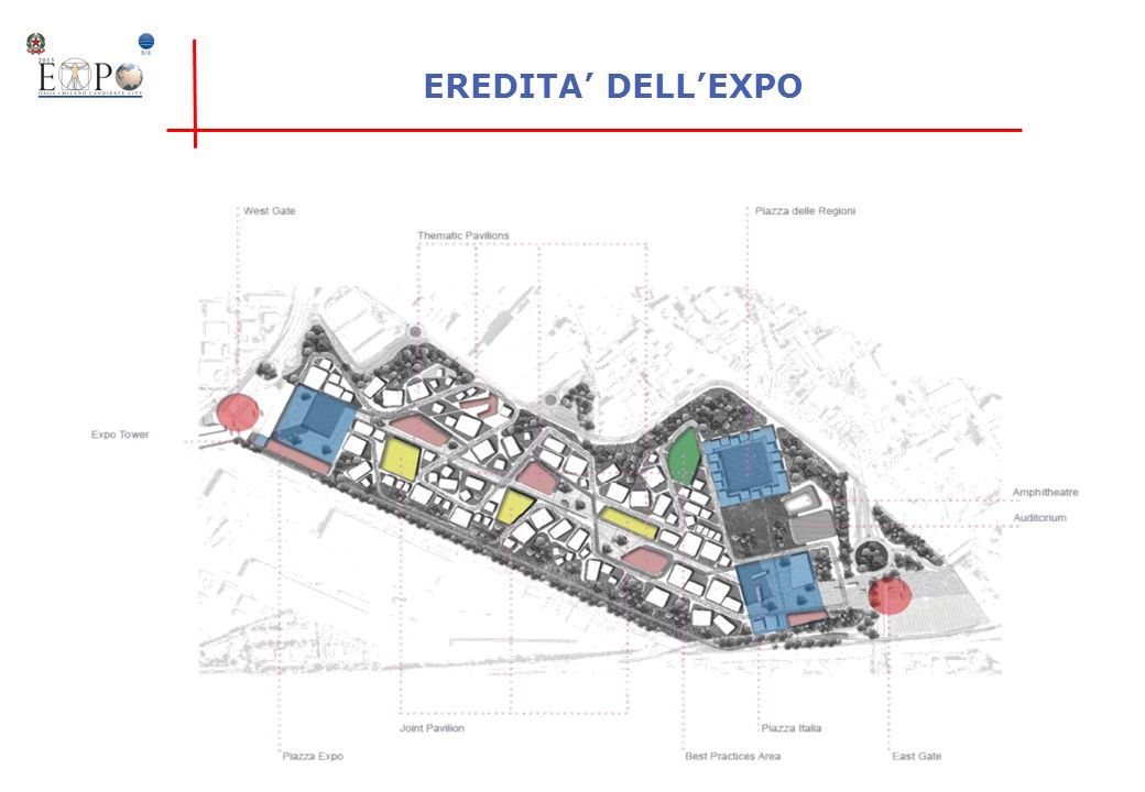 EREDITA' DELL'EXPO