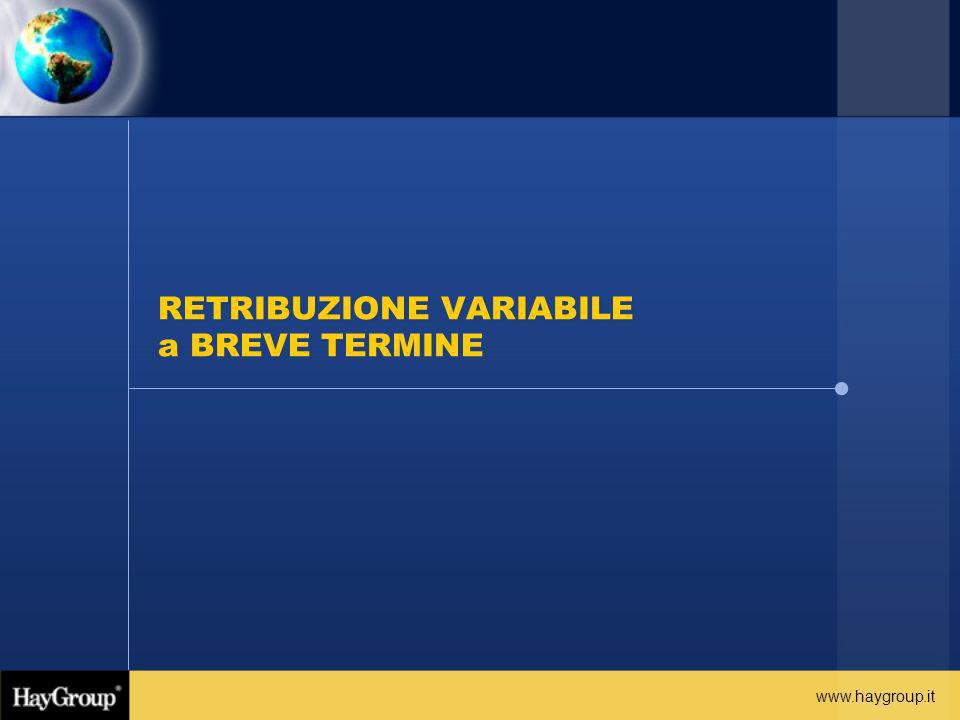 RETRIBUZIONE VARIABILE a BREVE TERMINE