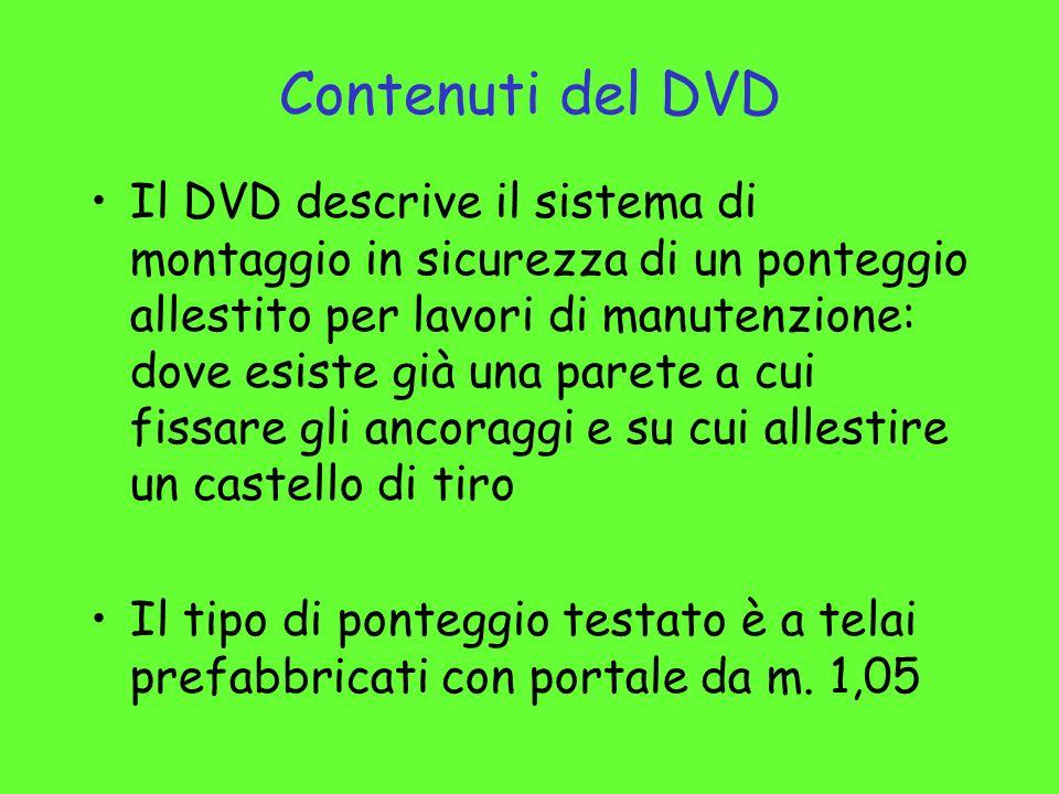 Contenuti del DVD